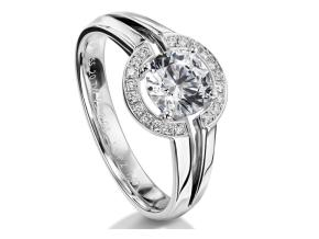 Engagement Rings - By Furrer Jacot - Style #: 53-66770-0-W