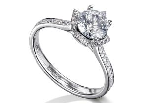 Engagement Rings - By Furrer Jacot - Style #: 53-66781-0-W