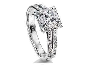 Engagement Rings - By Furrer Jacot - Style #: 53-66791-0-W