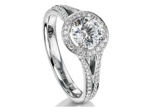 Engagement Rings - By Furrer Jacot - Style #: 53-66801-0-W