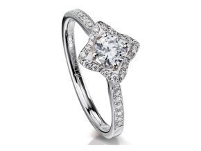 Engagement Rings - By Furrer Jacot - Style #: 53-66821-5-W