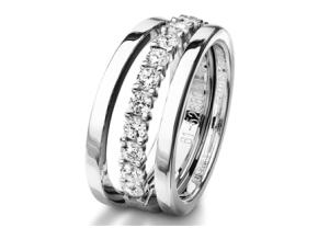 Wedding Rings - By Furrer Jacot - Style #: 62-5268B-0-0