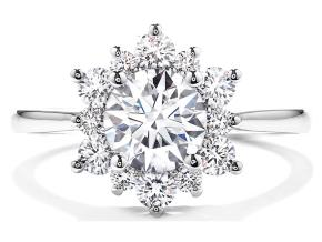 Engagement Rings from the Delight - By Hearts On Fire - Style #: HBRELD0508WAA-C