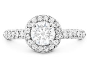 Engagement Rings from the Euphoria - By Hearts On Fire - Style #: HBREUPH01208WA-C