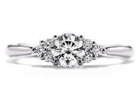 Engagement Rings from the Felicity - By Hearts On Fire - Style #: HBRFQC00478WAA-C
