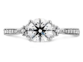 Engagement Rings from the Felicity - By Hearts On Fire - Style #: HBRDFQ00558WAA-C