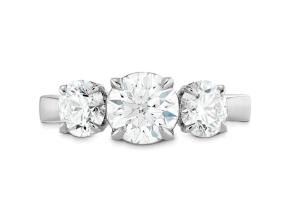 Engagement Rings from the HOFSig - By Hearts On Fire - Style #: HBR3CSIG01008RA-C