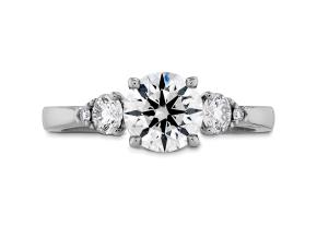 Engagement Rings from the HOFSig - By Hearts On Fire - Style #: HBR3SIG00608WA-C