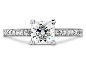 Engagement Rings from the Illustrious - By Hearts On Fire - Style #: HBRILDD01558RC-C