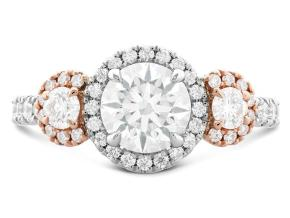 Engagement Rings from the Integrity - By Hearts On Fire - Style #: HBRINTGH01158RWA-C