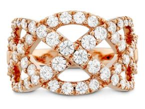 Rings from the Intertwining - By Hearts On Fire - Style #: HFRINTW01508R
