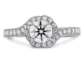Engagement Rings from the Lorelei - By Hearts On Fire - Style #: HBRDLBL00608RAA-C