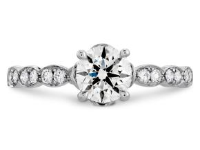 Engagement Rings from the Lorelei - By Hearts On Fire - Style #: HBRDFL00508RAA-C