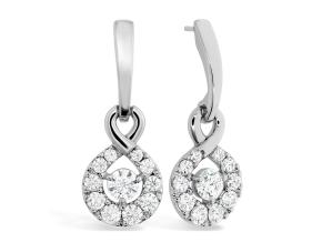 Earrings from the Optima - By Hearts On Fire - Style #: HFEDOPD00908W