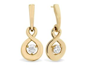 Earrings from the Optima - By Hearts On Fire - Style #: HFEOPSD00358R