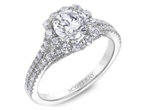 Engagement Rings from the Namaste - By Scott Kay - Style #: M2481R310PP