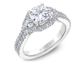 Engagement Rings from the Luminaire - By Scott Kay - Style #: M2525R515PP