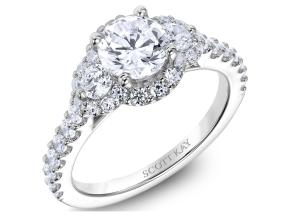 Engagement Rings from the Luminaire - By Scott Kay - Style #: M2526R510PP