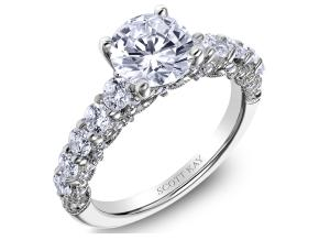 Engagement Rings from the Heaven's Gates - By Scott Kay - Style #: M2561R515PP
