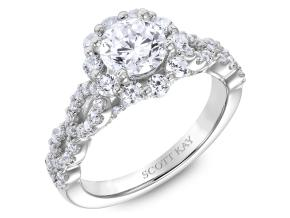 Engagement Rings from the Namaste - By Scott Kay - Style #: M2569R510PP