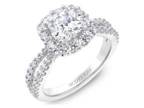 Engagement Rings from the Namaste - By Scott Kay - Style #: M2576R515PP