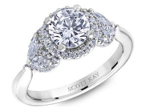 Engagement Rings from the Namaste - By Scott Kay - Style #: M2624RM510PP