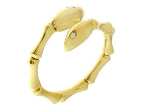 Rings from the Bamboo Navette - By Chimento - Style #: 1A05841B11140