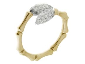 Rings from the Bamboo Navette - By Chimento - Style #: 1A05841BB2140