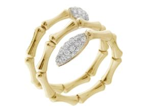 Rings from the Bamboo Navette - By Chimento - Style #: 1A05843BB2140