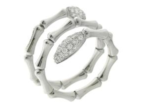 Rings from the Bamboo Navette - By Chimento - Style #: 1A05843BB5140