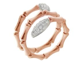 Rings from the Bamboo Navette - By Chimento - Style #: 1A05843BBT140