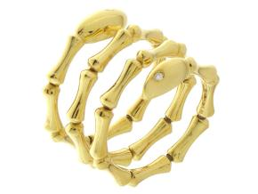Rings from the Bamboo Navette - By Chimento - Style #: 1A05844B11140