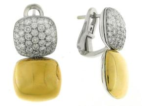 Earrings from the Double Join - By Chimento - Style #: 1O04721B3200P
