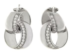 Earrings from the Link Infinity - By Chimento - Style #: 1O07991B1500S