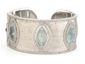Bracelets - By JudeFrances - Style #: B034Q-LBD-WTWR-S