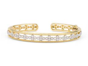Bracelets from the FALL 17 - By JudeFrances - Style #: B03S15-WDCB-6.5-Y