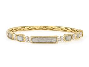 Bracelets from the FALL 17 - By JudeFrances - Style #: B28S16-LBR-WDCB6.5-Y