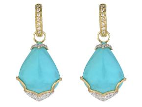 Earrings from the Lisse - By JudeFrances - Style #: C46F15-TQ-WDCB-Y
