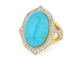 Rings from the Moroccan - By JudeFrances - Style #: R025Q-TQ-WDCB-6.5-Y