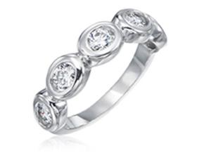 Wedding Rings from the Oasis - By Gumuchian - Style #: R639HW3.6
