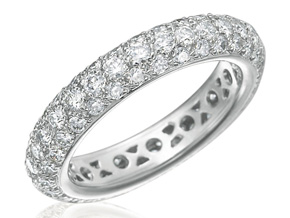 Wedding Rings - By Gumuchian - Style #: R650WG2