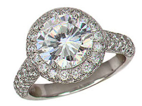 Engagement Rings - By Gumuchian - Style #: R666P3C