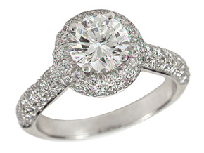 Engagement Rings - By Gumuchian - Style #: R670P