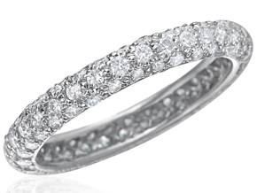 Wedding Rings - By Gumuchian - Style #: R672WG2