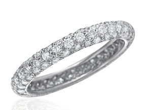 Wedding Rings - By Gumuchian - Style #: R672HPG2