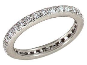 Wedding Rings - By Gumuchian - Style #: R673PG2