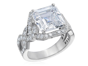 Engagement Rings from the Deco - By Gumuchian - Style #: R705P