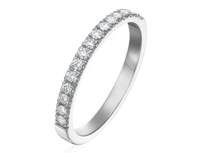 Wedding Rings from the Cinderella - By Gumuchian - Style #: R789GHP