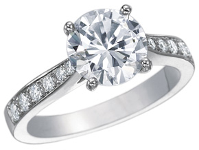 Engagement Rings from the Cinderella - By Gumuchian - Style #: R808P