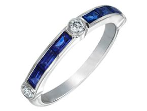 Wedding Rings from the Deco - By Gumuchian - Style #: R845GHP2SA